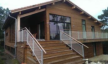maison ossature bois aquitaine