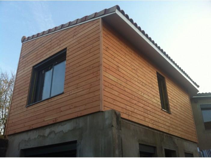 Ossature boisSurélévation à TALENCE (33) - architecte Agence COCHET VERDONI (33)
