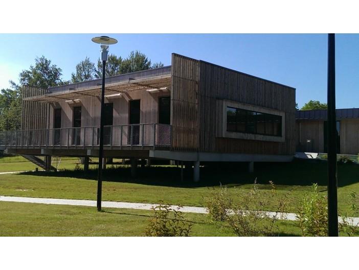 Bâtiment de la CDC LANGON (33) - architecte Agence BAGGIO-PIECHAUD (33)