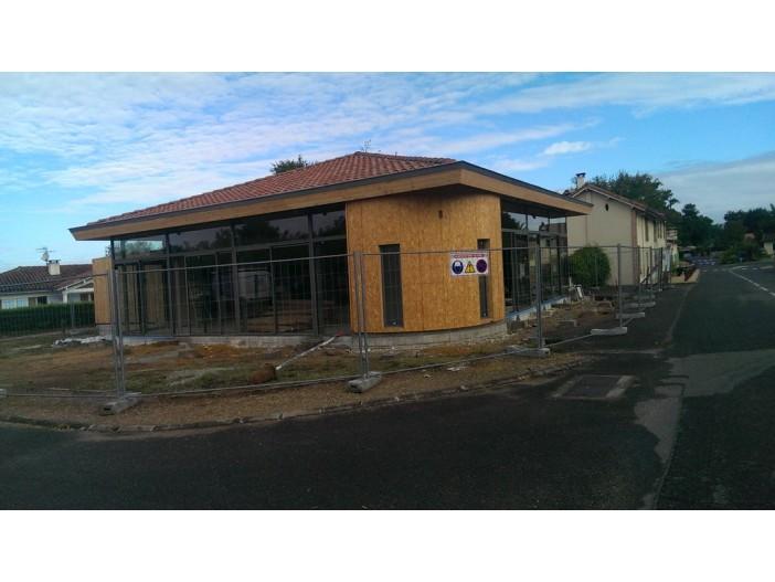 Salle des fêtes de SAINT AVIT (40) - SLK Architectes (40)