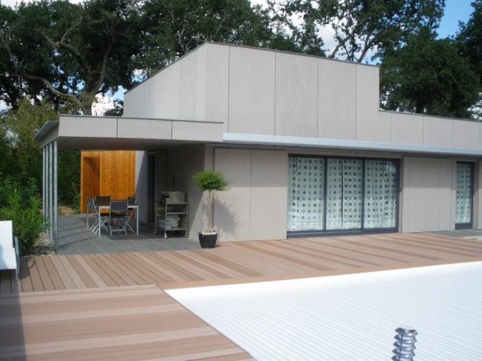 Maison à SAINT PIERRE DU MONT (40) - Architecte Rémy LAMANIVE
