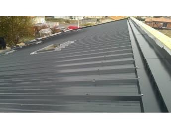 Couverture en bac acier isolé à BISCARROSSE (40)