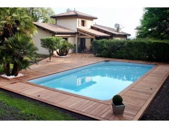 Terrasse en bois exotique dans le langonnais (33)