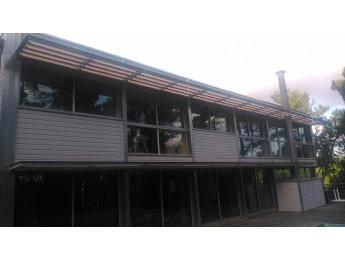 Isolation par l'extérieur à LACANAU (33) - Atelier d'architecture Claude MARTY (33)